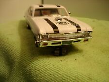 Vintage 1/24 I. Ind.1960's Chevy Nova SS slot car offered by MTH