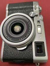 Fujifilm X100F 24.3 MP Digital Camera - Silver. (1200 shots) Excellent condition