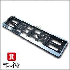 Portatarga cromato porta targa posteriore Peugeot 107 108 206 207 208 307 308