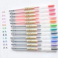 Gel Pen Set Ink 0.5 X 12 Colour Set Pens Office School Writing Pens Set