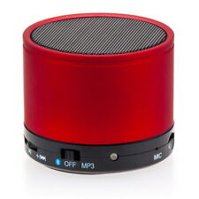 Mini Bluetooth altavoces boxeo speaker wirelles mp3 PC móvil Tablet Klein rojo