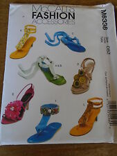 "PATRON  ""McCalls ""CREATIONS ACCESSOIRES ORNEMENTS CHAUSSURES N° 6336"