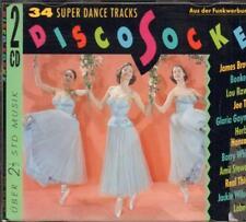 Various Disco(CD Album)Disco Socke - 34 Super Dance Tracks--New