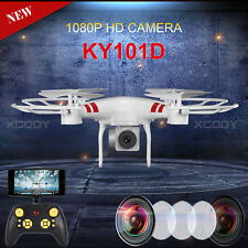 One Key Return Drone KY101D 4CH 6-Axis Aircraft 5.0MP 1080P Camera 3D VR Support