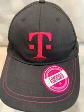 T-Mobile Tuesdays Negro Rosa Ajustable Adulto Béisbol Bola Gorra