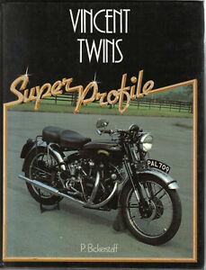 Vincent Twins Super Profile Book on History Specifications Buying Road Tests +