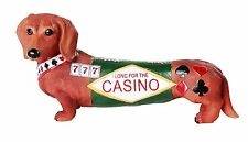 """Adorable Doxies Collection Casino Long Shot Dachshund Hot Diggity Doxies 6""""L"""