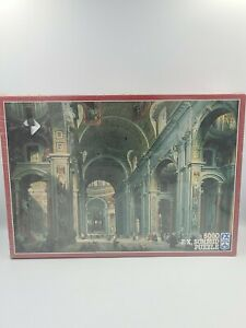 F.X. Schmid St Peter's Cathedral / Rome by Giovanni Paolo Panini 5000 pc NEW