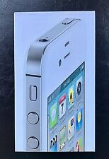 Apple iPhone 4s - 16GB - White (Verizon) A1387 (CDMA + GSM) in Box W/Accessories