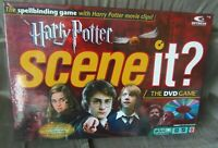 HARRY POTTER SCENE IT DVD BOARD GAME - 100% COMPLETE VGC
