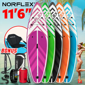 NORFLEX 11ft 6in Inflatable Stand Up Paddle Board SUP Paddleboard Surf Kayak