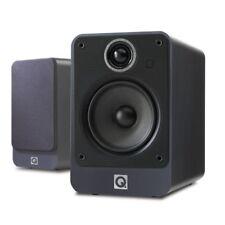 Q Acoustics 2020i Bookshelf Speakers Pair Graphite Brand New UK