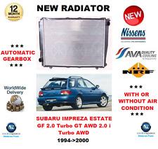 für SUBARU IMPREZA KOMBI GF 2.0 Turbo GT AWD 2.0 i Turbo AWD 1994-2000 Kühler
