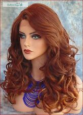LACE FRONT LACE C PART CURLEY OMBRE OM3240 GORGEOUS SEXY STYLE US SELLER 136THIS