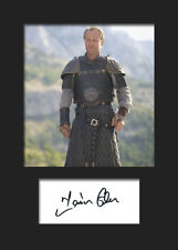 GAME OF THRONES - JORAH MORMONT (Iain Glen) #2 A5 Signed Mounted Photo Print