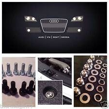 Fits Audi TT engine Bay Cover Bolts Fastener - 50 pièce SS Kit de conversion