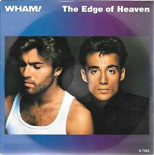 "45 TOURS / 7"" SINGLE--WHAM--GEORGE MICHAEL--THE EDGE OF HEAVEN--1986"