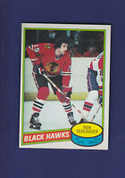 Ron Sedlbauer 1980-81 O-PEE-CHEE OPC Hockey #134 (EXMT+) Chicago Blackhawks
