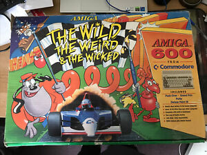 Refurbished Amiga 600 The Wild The Weird And The Wicked Boxed Set