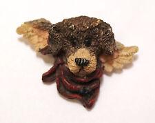 BOYD'S BEARS * RALPH ANGELPOOCH * Puppy Dog Angel Pin Brooch Pin Resin