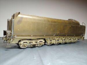 Vintage O Scale Brass NYC Niagara steam engine tender Max Gray KMT? Sprung wheel