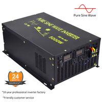 Pure Sine Wave Inverter 5000watt 12V/24/36/60/48V to 240V Solar Power Inverter