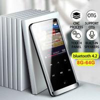 Portable 32G/64G bluetooth MP3 MP4 Music Player HIFI Sport Speakers Video FM 🔥