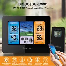 DIGOO EX001 WIFI Contrôle APP Station Météo Prévoir Humidité Température Réveil
