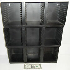 LOT OF 3! 30 CD Wall Mount Tabletop Storage Holder Case Racks 90 CD90 Organizer