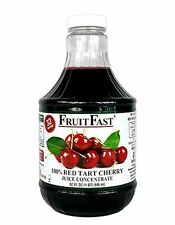 """FruitFast - Tart Cherry Juice Concentrate """"Cold Filled"""" ONE QUART 32 Day Supply"""