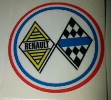 Sticker de volant  Renault Compétition R8 Gordini Alpine