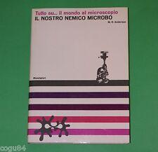 Il nostro nemico microbo - M.D. Anderson - 1^Ed. Mondadori 1965
