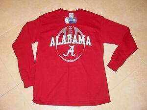 BAMA Alabama CRIMSON TIDE  FOOTBALL long sleeve T-Shirt NEW .. sz.....  MEDIUM