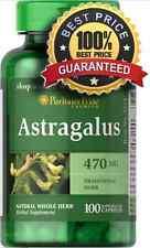 Astragalus 470 mg x 100 Capsules Immune System Support  Puritan's Pride