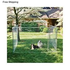 Large Outdoor Dog Kennel Outside Pet Playpen Crate Cage Fence Exercise Pen 10x10
