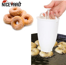 Donut Mould Easy Fast Portable Donut Maker Manual Waffle Dispenser Doughnut Mach