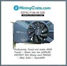 ZOTAC P106-90 3GB Mining Video card 💥NVIDIA 1060GTX GPU Without Display Ports💥