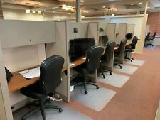 Used Office Cubicles, Knoll Dividends 4x2 Cubicles