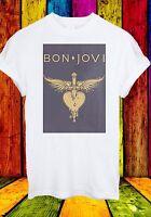 Jon Bon Jovi American Rock Band Hard Rock Glam Metal Men Women Unisex T-shirt 72