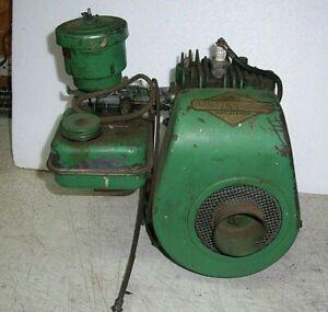 Vintage Briggs Stratton Model 5S Engine/Motor Complete Has Compression /Smooth
