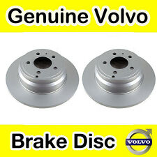 Genuine Volvo 850, S70, V70 (-00) C70 (-05) Rear Brake Discs (Pair)