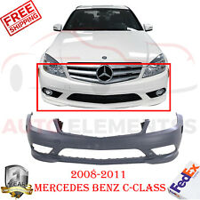 Front Bumper Cover Primed For 2008-2011 Mercedes Benz C-Class 230 300 350
