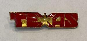 Vintage Texas Star Lapel Pin - Hat Pin - Tie Tac - Very Nice!