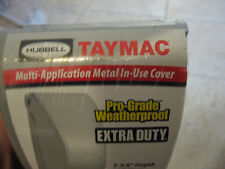 HUBBELL TAYMAC MX3200 8-IN-1 WEATHERPROOF RECEPTACLE COVER GFCI/ DUPLEX/ SWITCH