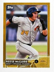 2015 Topps Pro Debut Gold #38 Reese McGuire - NM-MT