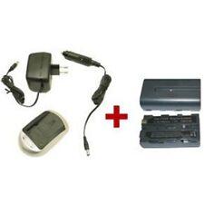 Ladestation + Akku für Sony Typ NP-F550 NP-F530 NP-F330