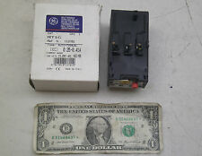 NEW GE OVERLOAD RELAY CONTACTOR RT1C NIB FREE SHIPPING!!!