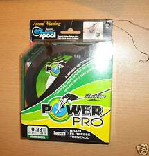 POWERPRO fishing braid - 300yd 33lb GREEN  POWER PRO