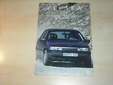 17399) Opel Vectra A 4x4 Prospekt 1989
