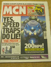MCN - MOTORCYCLE NEWS - 200 MPH - 8 March 2006